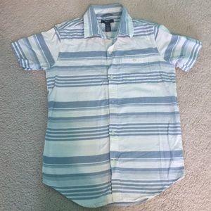 Gap Short sleeve collared dress shirt